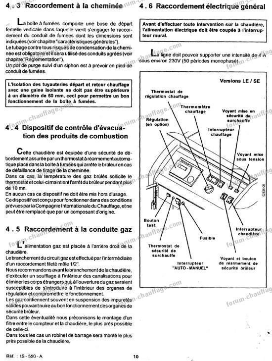 Profil du membre yannv sur le forum chauffage - Ideal standard chaudiere ...